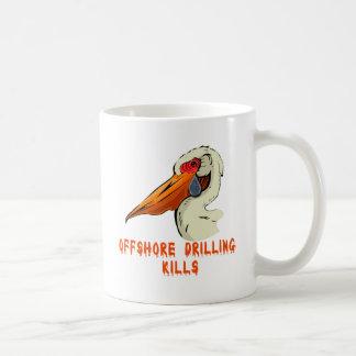 La perforación petrolífera en el mar mata a las ca taza de café