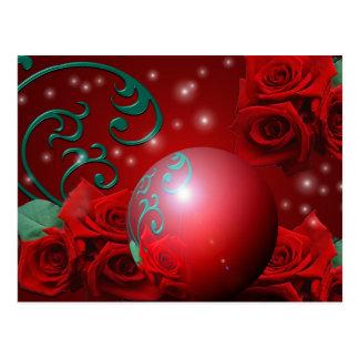 La perla color de rosa postal