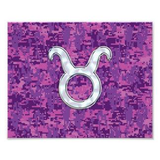La perla tiene gusto de la muestra del zodiaco del fotografías