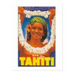 ~ La Perle du Pacifique de Tahití Tarjetas Postales