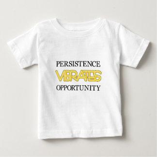 La persistencia vibra oportunidad playera de bebé