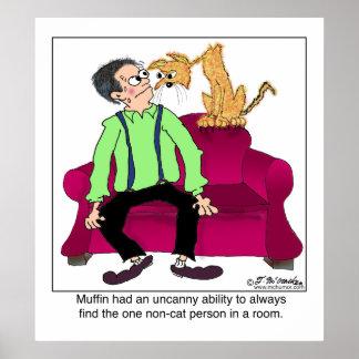 La persona del No-Gato Posters