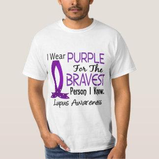 La persona más valiente sé lupus playera