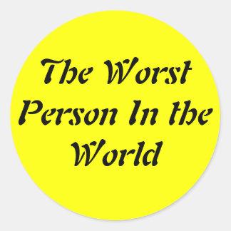 La persona peor del mundo etiquetas