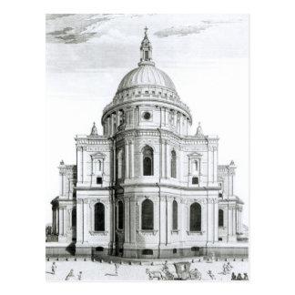 La perspectiva del este de la catedral de San Pabl Postal