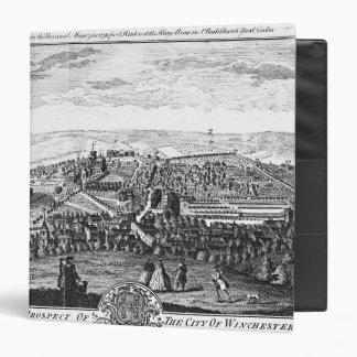 """La perspectiva del este de la ciudad de Winchester Carpeta 1 1/2"""""""