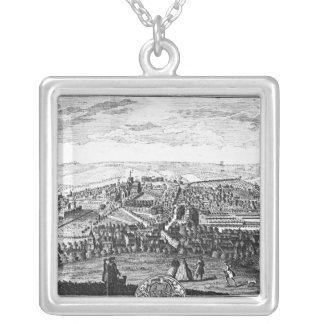 La perspectiva del este de la ciudad de Winchester Colgante Cuadrado