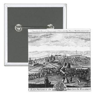 La perspectiva del este de la ciudad de Winchester Pin Cuadrado