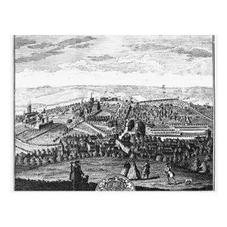 La perspectiva del este de la ciudad de Winchester Postal