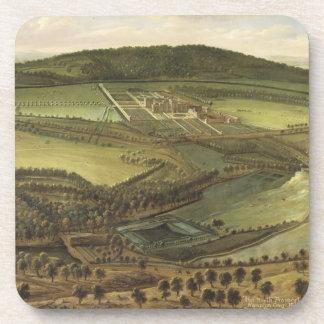 La perspectiva del norte del Hampton Court, c.1699 Posavaso