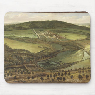 La perspectiva del norte del Hampton Court, c.1699 Tapete De Raton
