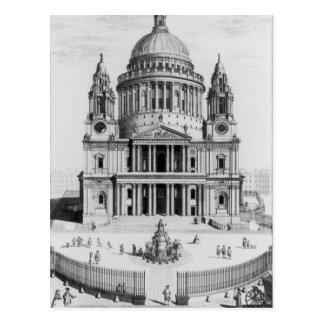 La perspectiva del oeste de la catedral de San Pab Postal