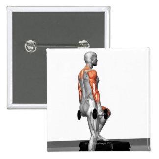 La pesa de gimnasia intensifica 2 pin
