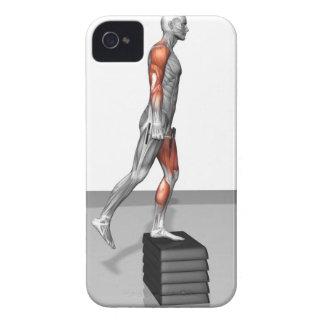 La pesa de gimnasia intensifica 4 iPhone 4 cobertura