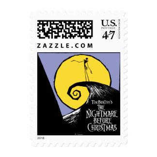 La pesadilla de Tim Burton antes del navidad Sellos Postales