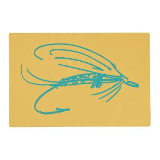 La pesca con mosca del Harlequin engaña el modelo Tapete Individual