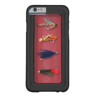 La pesca con mosca vuela funda para iPhone 6 barely there