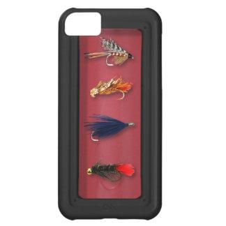 La pesca con mosca vuela funda para iPhone 5C