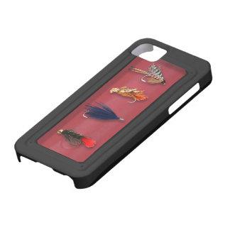 La pesca con mosca vuela iPhone 5 carcasa