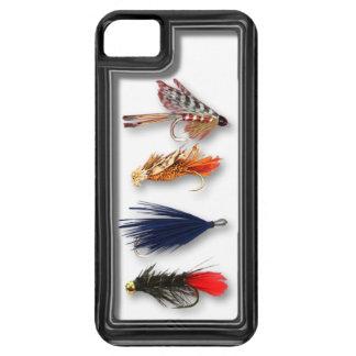 La pesca con mosca vuela - la caja realista iPhone 5 cárcasas