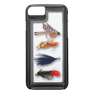 La pesca con mosca vuela - la caja realista funda iPhone 7