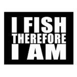 La pesca divertida cita chistes que I me pesca por Postal