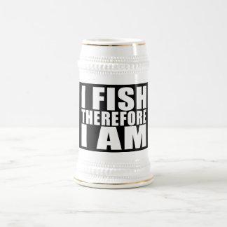 La pesca divertida cita chistes que I me pesca por Tazas De Café