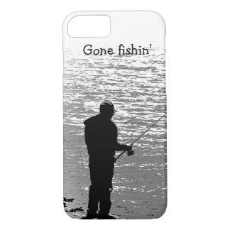 La pesca en el lago se divierte el caso del iPhone Funda iPhone 7