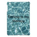 ¡La pesca es mi terapia! iPad Mini Protectores
