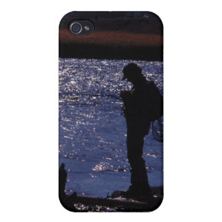 La pesca labra oscuridad iPhone 4/4S funda