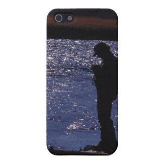 La pesca labra oscuridad iPhone 5 funda
