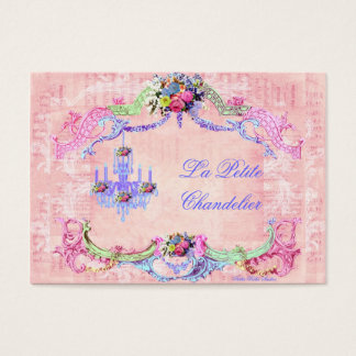 La Petite Chandelier Business Card