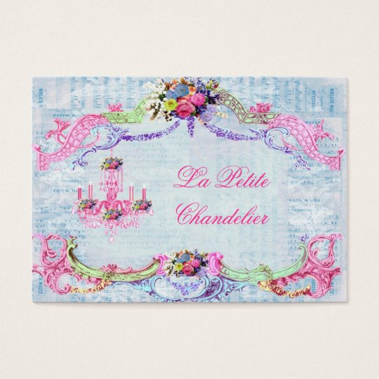 La Petite Chandelier Business Card