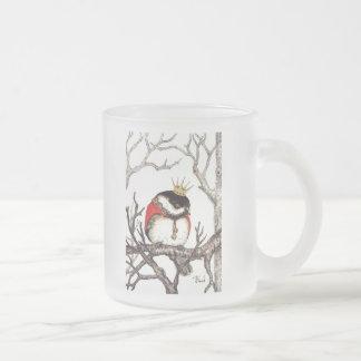 La Petite Princesse Frosted Glass Coffee Mug