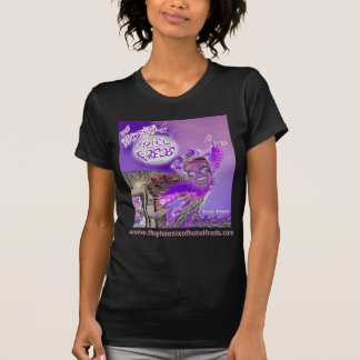 La Phoenix de la oscuridad de la cubierta W de la Camiseta
