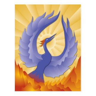 La Phoenix que sube de las cenizas Postales