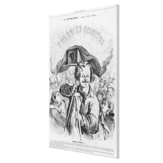 'La Photographie, Nadar (1820-1910) le grand (!!!. Canvas Print