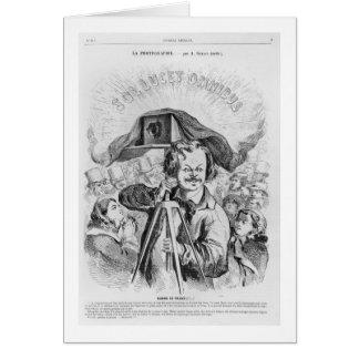 'La Photographie, Nadar (1820-1910) le grand (!!!. Card