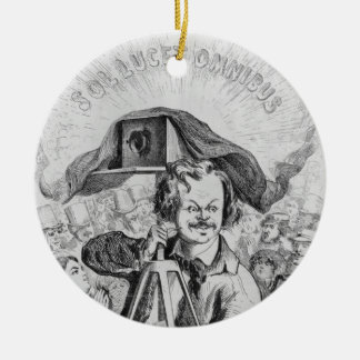 'La Photographie, Nadar (1820-1910) le grand (!!!. Ceramic Ornament