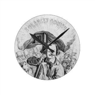 'La Photographie, Nadar (1820-1910) le grand (!!!. Round Clock