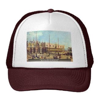La Piazza San Marco. By Canaletto Trucker Hat