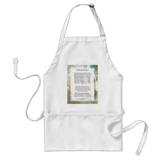 La Piazza Simple Prayer For Peace by St. Francis Adult Apron