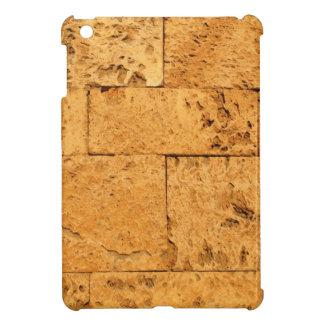 La piedra antigua bloquea el fondo iPad mini cárcasa