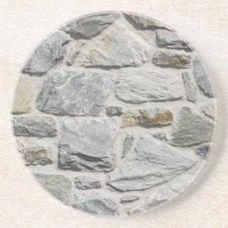 La piedra caliza oscila el práctico de costa de la posavasos diseño