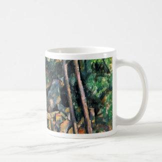 La piedra de molino de Paul Cézanne (la mejor cali Taza De Café