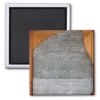 La piedra de Rosetta, de St. Julien del fuerte, Imán Cuadrado