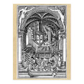 La piedra del filósofo tarjetas postales