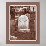 La piedra sepulcral de Washington Irving Impresiones