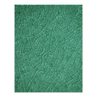 """La piedra verde agrieta el aviador folleto 8.5"""" x 11"""""""