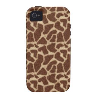 La piel de la jirafa mancha 2 iPhone 4/4S carcasa